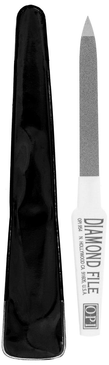 OPI Пилочка алмазнаяFI954Уникальные дезинфицируемые пилки с алмазной крошкой Diamond File из стали фирмы Золинген для обработки натуральных ногтей, предотвращают расслаивание ногтей.