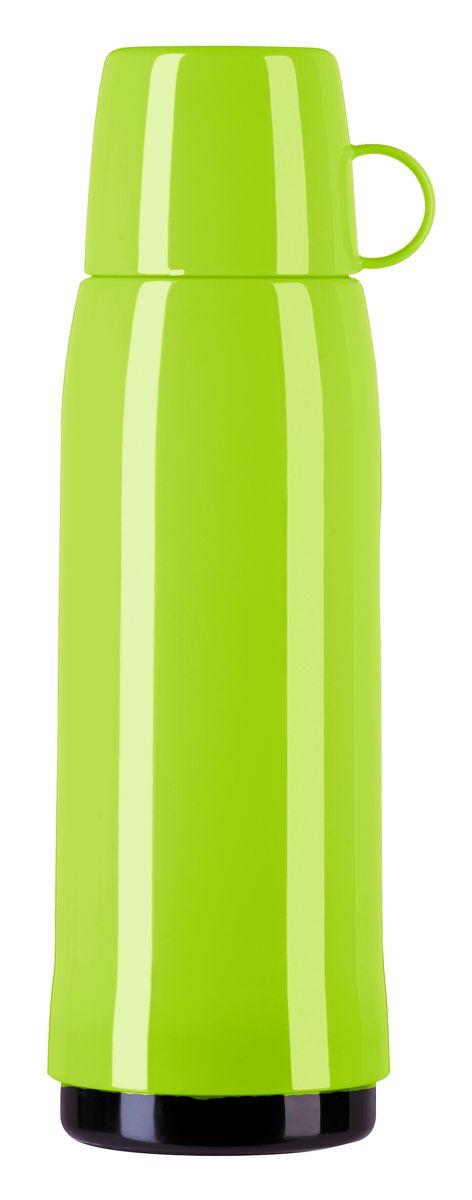 Термос Emsa Rocket, цвет: салатовый, 1 л513416Термос Emsa Rocket выполнен из прочного цветного пластика со стеклянной колбой. Термос прост в использовании и очень функционален. Оснащен герметичной завинчивающейся пробкой и крышкой, которую можно использовать в качестве кружки. Легкий и прочный термос Emsa Rocket сохранит ваши напитки горячими или холодными надолго. Высота (с учетом крышки): 32 см. Диаметр горлышка: 6,3 см. Диаметр дна: 9,5 см. Размер крышки (без учета ручки): 8 х 8 х 6,7 см. Сохранение холода: 24 ч. Сохранение тепла: 12 ч.