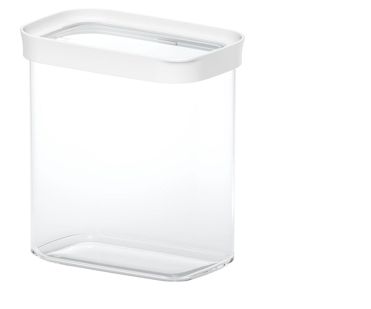 Контейнер для сыпучих продуктов Emsa Optima, 1,6 л513558Контейнер для сыпучих продуктов Emsa Optima изготовлен из высококачественного пищевого пластика. Изделие прозрачное, что позволяет видеть содержимое, это очень удобно и практично. Специальная крышка с силиконовой вставкой плотно закрывается, предотвращая попадание влаги. Контейнер очень вместителен, в нем можно хранить макароны, крупы и другие сыпучие продукты, а также печенье или конфеты. Идеальный вариант для поддержания порядка на кухне. Можно мыть в посудомоечной машине.