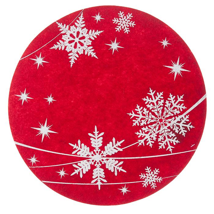Декоративная салфетка Lunten Ranta Метелица, диаметр 33 см67790_1Декоративная салфетка Lunten Ranta Метелица, изготовленная из фетра с оригинальным принтом в виде снежинок, станет не только достойным украшением вашего интерьера, но и предохранит поверхность от пыли и загрязнений. Салфетку можно преподнести в качестве оригинального подарка или сувенира.