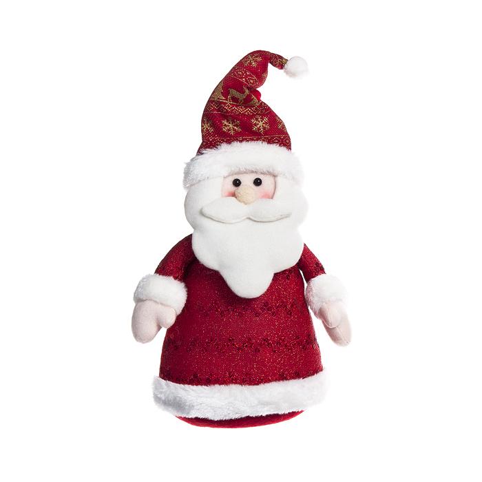 Фигура декоративная Its a Lunten Ranta Дед Мороз в длинной шубке, цвет: белый, красный, высота 30 см67670_1Новогодняя декоративная фигурка Lunten Ranta Дед Мороз в длинной шубке прекрасно подойдет для праздничного декора вашего дома. Сувенир выполнен из полиэстера в виде забавного деда Мороза. Такая фигурка оформит интерьер вашего дома или офиса в преддверии Нового года. Оригинальный дизайн и красочное исполнение создадут праздничное настроение. Кроме того, это отличный вариант подарка для ваших близких и друзей.