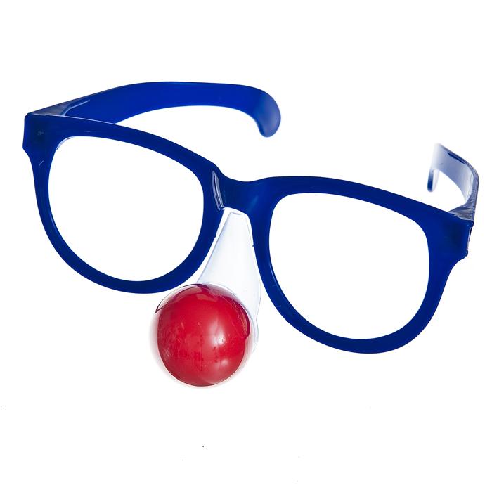 Очки карнавальные Lunten Ranta Смешные, цвет: синий69471_2Большие карнавальные очки без линз Lunten Ranta Смешные помогут создать яркий маскарадный образ и подарят веселое праздничное настроение. Очки выполнены из пластика и оснащены клоунским носом с подсветкой. Если у вас намечается веселая вечеринка или маскарад, то такие очки легко помогут создать праздничную атмосферу. Внесите нотку задора и веселья в ваш праздник. Веселое настроение и масса положительных эмоций будут обеспечены!