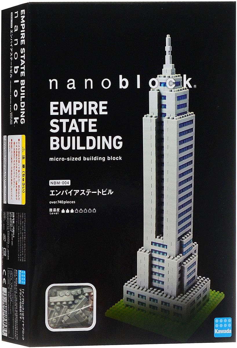 Nanoblock Мини-конструктор Эмпайр стейт билдингNBM_004Одна из лучших и самых красивых моделей из Наноблока, заслуженно любимая фанатами бренда. Конструктор nanoBlock - самый маленький в мире конструктор, крайне необычный, как все японское. Высокоточные трехмерные модели из деталей подобных Лего, но предельно уменьшенных в размерах, стали хитом в Японии и буквально произвели фурор в Америке, Европе, Азии и Австралии. Самая маленькая деталь конструктора - 4 мм х 4 мм, а классический прямоугольный элемент 2-на-4 точки имеет размер 8 мм х 16 мм и 5 мм высотой. Запатентованный дизайн деталей и высочайшее качество пластика обеспечивают надежное соединение даже при таких небольших размерах. Нано-размер деталей позволяет добиться невероятной реалистичности у собранных конструкций. В результате получаются небольшие по масштабу объекты невиданной точности. Модель первого в мире 102-этажного небоскреба. Эмпайр-стейт-билдинг с 1931 по 1972, до открытия Северной башни Всемирного торгового центра, являлся...