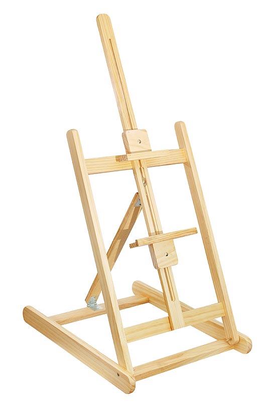 60-BS Мольберт настольный 41х51.5х96 см60-BS Мольберт настольный 41х51.5х96cmМольберт с выдвижной мачтой, регулировкой по высоте и углом наклона. Работа фиксируется с помощью нижнего упора и подвижного верхнего зажима - бегунка. Мольберт предназначен для работ не более 60 см. по высоте