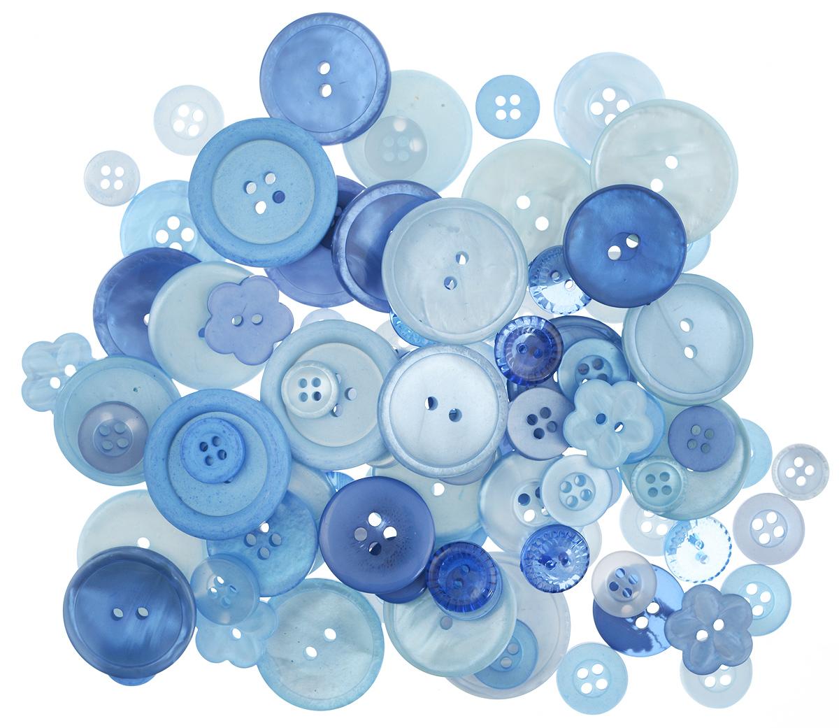 Пуговицы декоративные Buttons Galore & More Color Blends, цвет: голубика, 85 г. 77088797708879_ГолубикаНабор пуговиц для творчества и декорирования одежды Buttons Galore & More Color Blends изготовлен из высококачественного пластика. В набор входят пуговицы различных размеров и с разным количеством отверстий. Такие пуговицы подходят для любых видов творчества: скрапбукинга, декорирования, шитья, изготовления кукол, а также для оформления одежды. С их помощью вы сможете украсить открытку, фотографию, альбом, подарок и другие предметы ручной работы. Пуговицы имеют оригинальный и яркий дизайн. Средний диаметр пуговиц: 2 см.