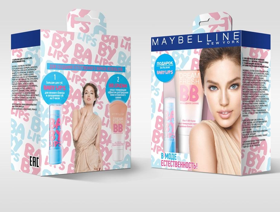 Maybelline New York Подарочный набор: BB-Крем