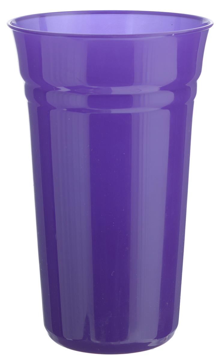 Стакан Berossi Patio, цвет: индиго, 800 млИК09135000_индигоСтакан Berossi Patio изготовлен из прочного высококачественного пластика. Изделие предназначено для воды, сока и других напитков. Стакан сочетает в себе яркий дизайн и функциональность. Благодаря такому стакану пить напитки будет еще вкуснее. Стакан Berossi Patio можно использовать дома, на даче или на пикнике. Диаметр стакана по верхнему краю: 10 см. Высота стакана: 15,5 см. Диаметр основания: 6,5 см.