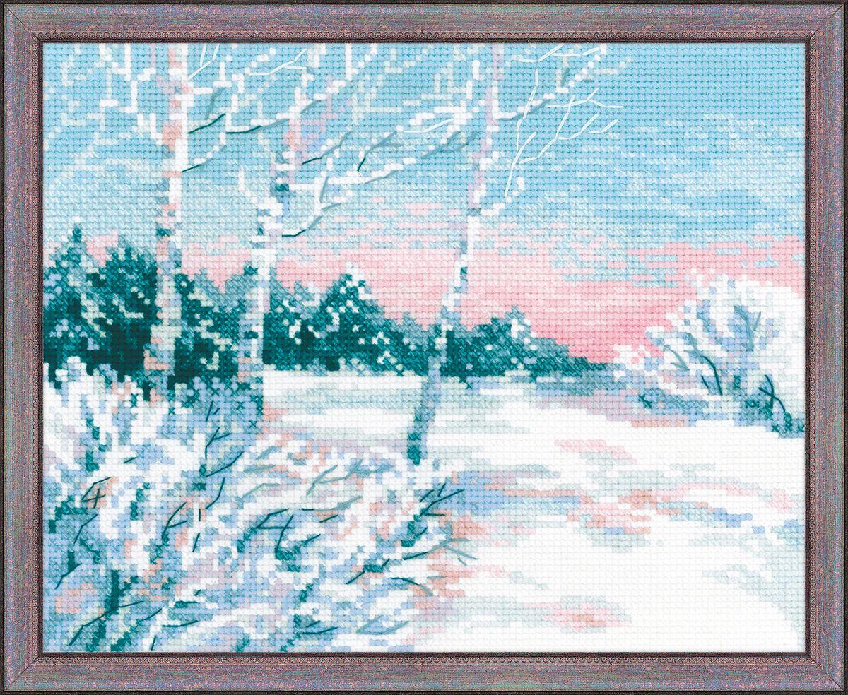 Набор для вышивания крестом Riolis Зимнее утро, 30 x 24 см1541Набор для вышивания Riolis Зимнее утро поможет вам создать свой личный шедевр - красивую картину, вышитую нитками мулине в технике счетный крест. Работа, выполненная своими руками, станет отличным подарком для друзей и близких! Набор содержит: - белая канва Zweigart Aida 10; - нитки шерсть / акрил Safil (12 цветов); - игла; - цветная схема. УВАЖАЕМЫЕ КЛИЕНТЫ! Обращаем ваше внимание на то, что рамка в комплект не входит, а служит для визуального восприятия товара.
