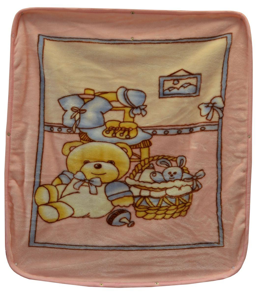 Bonne Fee Плед детский Плед-накидка для младенцев на молнии, 80 х 90 см, розовыйОНДК/300-роз2Защита, тепло и комфорт для малышей - использован надёжный, качественный и мягкий материал! Удобство и спокойствие для родителей обеспечивается универсальностью пледа-накидки, конструкция которого позволяет ему легко превращаться в конвертик. Отличное качество и практичность! Любите своего ребёнка и дарите ему лучшее!