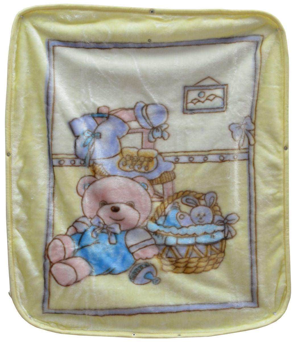 Bonne Fee Плед детский Плед-накидка для младенцев на молнии, 80 х 90 см, желтыйОНДК/300-жёлт2Защита, тепло и комфорт для малышей - использован надёжный, качественный и мягкий материал! Удобство и спокойствие для родителей обеспечивается универсальностью пледа-накидки, конструкция которого позволяет ему легко превращаться в конвертик. Отличное качество и практичность! Любите своего ребёнка и дарите ему лучшее!