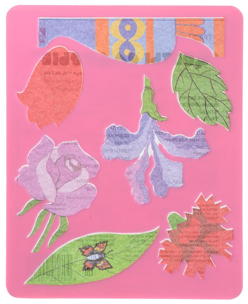 Луч Трафарет Цветы садовые, цвет: розовый10С567-08_розовыйТрафарет Луч Цветы садовые, выполненный из безопасного материала, предназначен для детского творчества. По трафарету маленькие художники смогут нарисовать красивый букет из садовых цветов и поместить его в вазу. Для этого необходимо положить трафарет на лист бумаги, обвести фигуру по контуру и раскрасить по своему вкусу или глядя на цветную картинку-образец. Трафареты предназначены для развития у детей мелкой моторики и зрительно- двигательной координации, навыков художественной композиции и зрительного восприятия.
