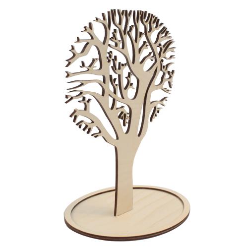 Деревянная заготовка Дерево под бижутерию на подставке 27*16 (L-361) Астра581781