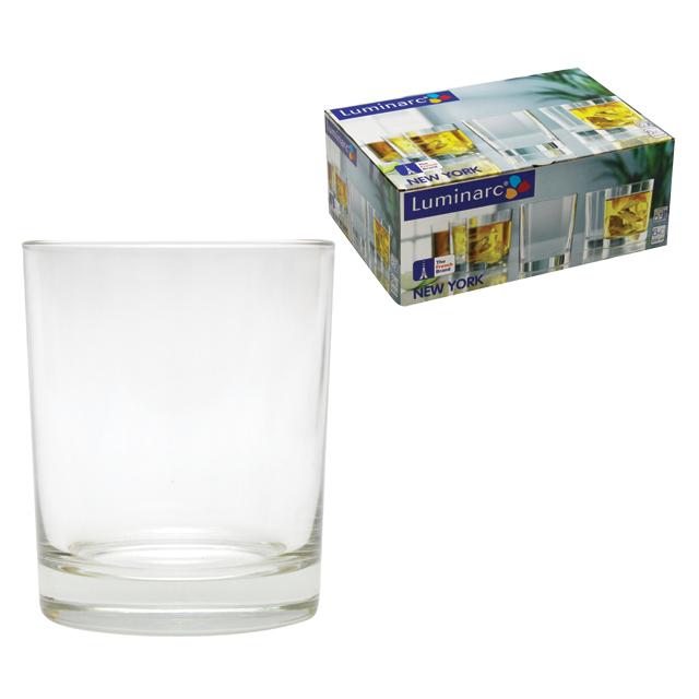 Набор стаканов Luminarc Нью-Йорк, 250 мл, 6 штH5065Набор Luminarc Нью-Йорк состоит из 6 низких стаканов, выполненных из высококачественного стекла. Изделия подходят для сока, воды, лимонада и других напитков. Такой набор станет прекрасным дополнением сервировки стола, подойдет для ежедневного использования и для торжественных случаев. Можно мыть в посудомоечной машине. Объем стакана: 250 мл. Высота стакана: 9,5 см. Диаметр стакана: 7,5 см.