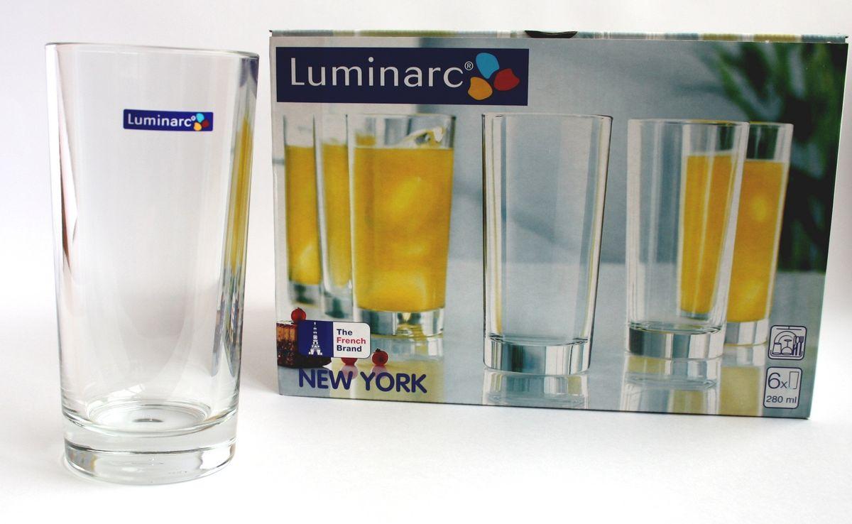 Набор стаканов Нью-Йорк 6 шт, FH 280 мл H5066H5066