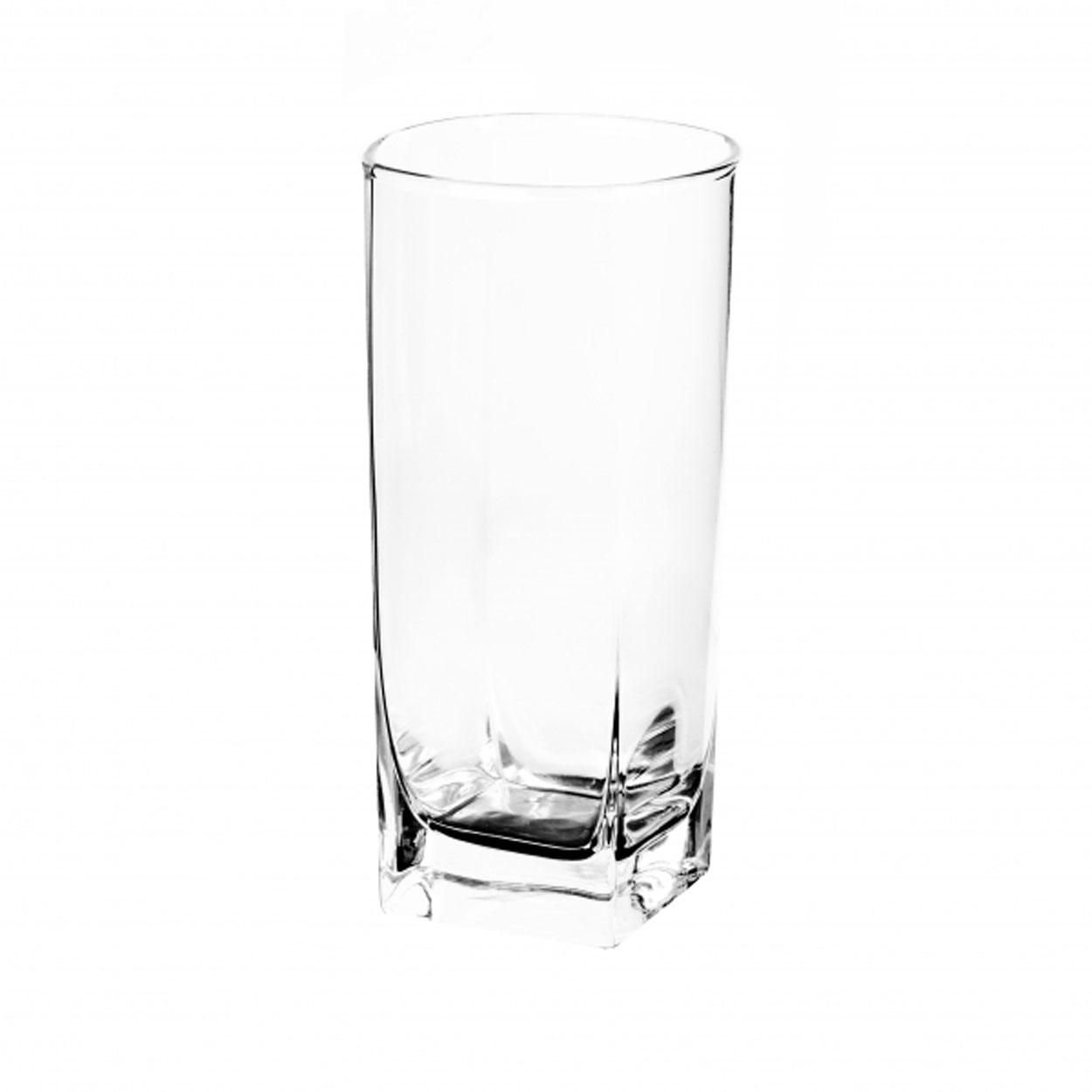 Набор стаканов Luminarc Стерлинг, 330 мл, 6 штH7666Набор стаканов Стерлинг от Luminarc оценят те, кто предпочитает стильную и надежную посуду. Стаканы изготовлены из фирменного ударопрочного стекла со специальным покрытием, которое предотвращает появление микротрещин. Высокие прозрачные стаканы с квадратным дном подойдут и для веселой вечеринки, и повседневного застолья. Набор состоит из шести стаканов, каждый объемом 330 мл. Стаканы можно мыть в посудомоечной машине.