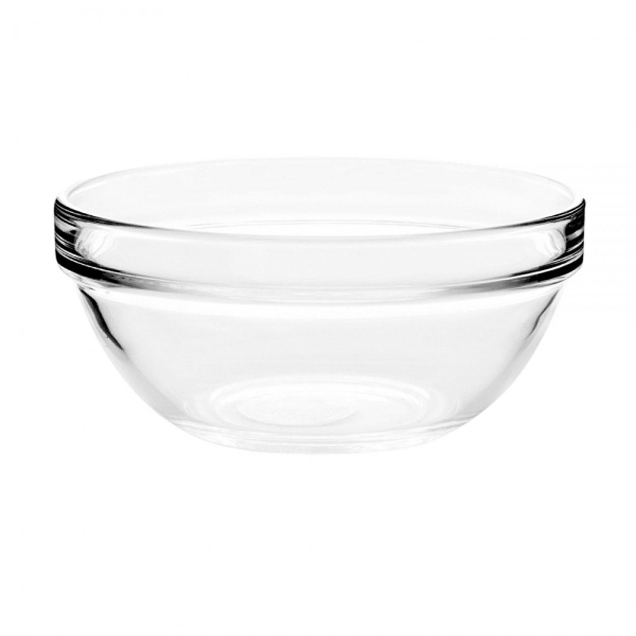 Салатник Luminarc, цвет: прозрачный, диаметр 17 смJ0053Салатник Luminarc, диаметром 17 см, подойдет любителям простых и удобных вещей. Он предназначен для подачи и хранения салатов, холодных закусок и десертов. Прозрачный салатник классической формы из ударопрочного стекла впишется в интерьер любой кухни или столовой. Можно мыть в посудомоечной машине.