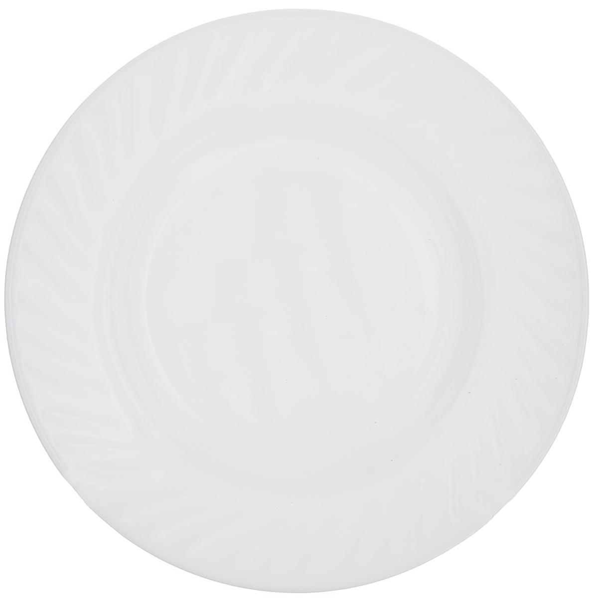 Тарелка House & Holder, цвет: белый, диаметр 17,8 смHP-70Круглая тарелка House & Holder изготовлена из высококачественного стекла. Такая тарелка украсит сервировку вашего стола и подчеркнет прекрасный вкус хозяина, а также станет отличным подарком. Диаметр: 17,8 см. Высота: 1,5 см.