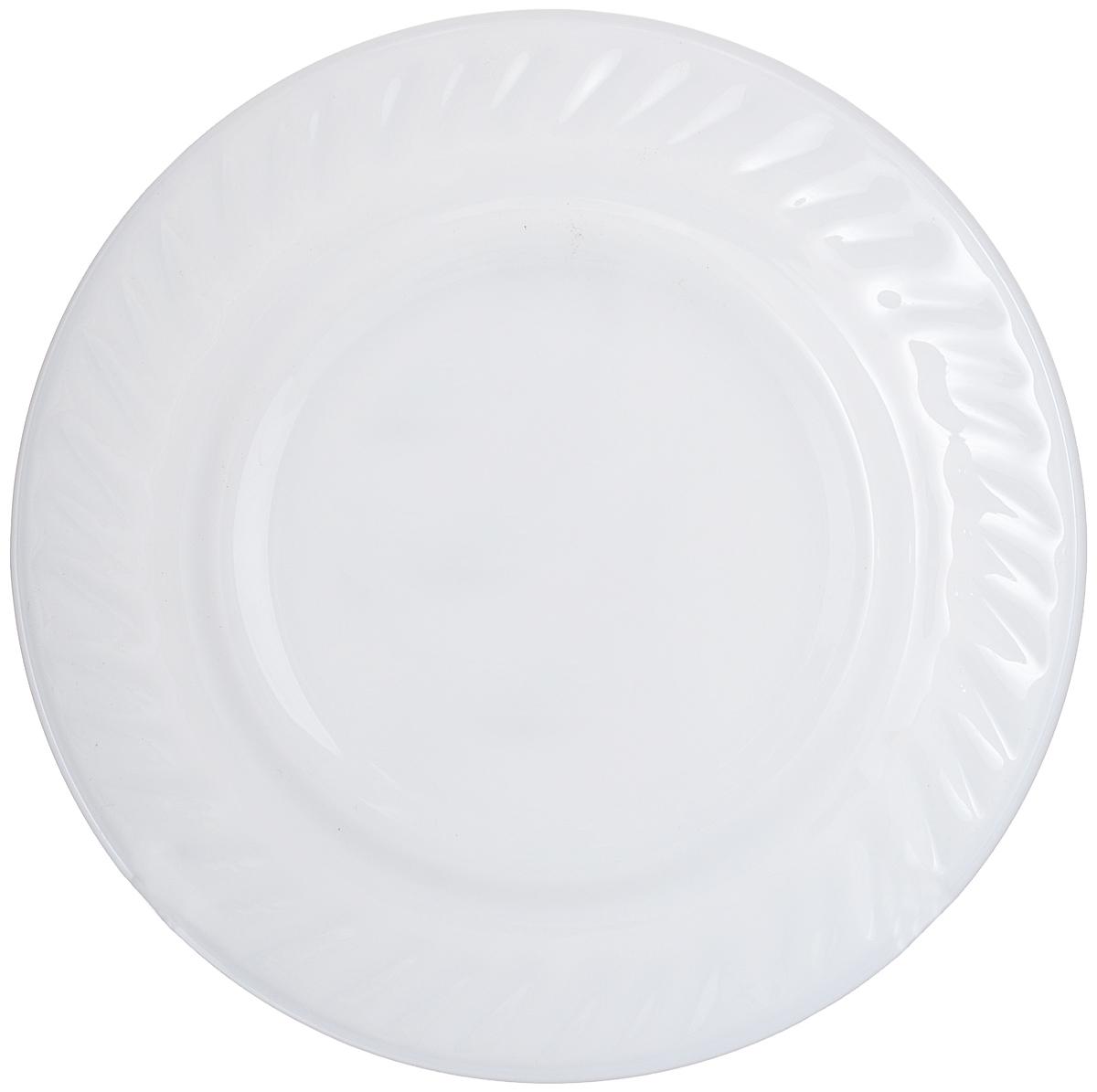 Тарелка House & Holder, цвет: белый, диаметр 17,8 см. HSP70HSP70Круглая тарелка House & Holder изготовлена из высококачественного стекла. Такая тарелка украсит сервировку вашего стола и подчеркнет прекрасный вкус хозяина, а также станет отличным подарком. Диаметр: 17,8 см. Высота: 3 см.