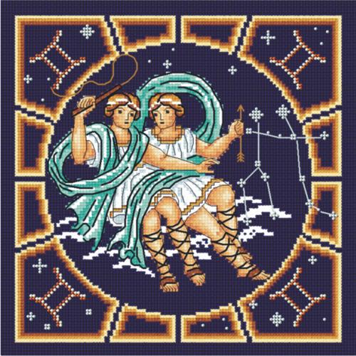 Набор для вышивания крестом и бисером М.П.Студия Близнецы, 20 х 20 см БК- 006676042Красивый рисунок-вышивка, выполненный на канве, выглядит оригинально и всегда модно. Работа, сделанная своими руками, создаст особый уют и атмосферу в доме и долгие годы будет радовать вас и ваших близких. Набор для вышивания крестом и бисером М.П.Студия Близнецы содержит все необходимые материалы. Вышивка выполняется швом полный крест в две нити мулине. Дополнительные швы - 1/2 креста и назад иголка (для контура). В состав набора входит: - канва Aida 14 темно-синего цвета (100% хлопок, рисунок не нанесен), - вышивальные нитки-мулине (100% хлопок), - цветная символьная схема, - инструкция, - бисер производства Чехия, 3 цвета, - игла для вышивания. Размер канвы: 30 см х 30 см. Рекомендуемое количество цветов: 12.