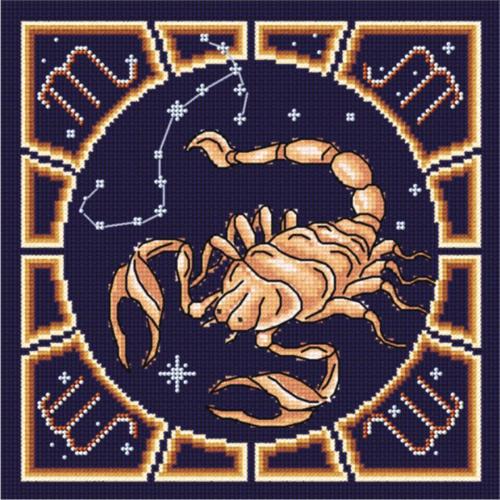 Набор для вышивания крестом и бисером М.П.Студия Скорпион, 20 х 20 см БК- 011676048Красивый рисунок-вышивка, выполненный на канве, выглядит оригинально и всегда модно. Работа, сделанная своими руками, создаст особый уют и атмосферу в доме и долгие годы будет радовать вас и ваших близких. Набор для вышивания крестом и бисером М.П.Студия Скорпион содержит все необходимые материалы. Вышивка выполняется швом полный крест в две нити мулине. Дополнительные швы - 1/2 креста и назад иголка (для контура). В состав набора входит: - канва Aida 14 темно-синего цвета (100% хлопок, рисунок не нанесен), - вышивальные нитки-мулине (100% хлопок), - цветная символьная схема, - инструкция, - бисер производства Чехия, 3 цвета, - игла для вышивания. Размер канвы: 30 см х 30 см. Рекомендуемое количество цветов: 8.
