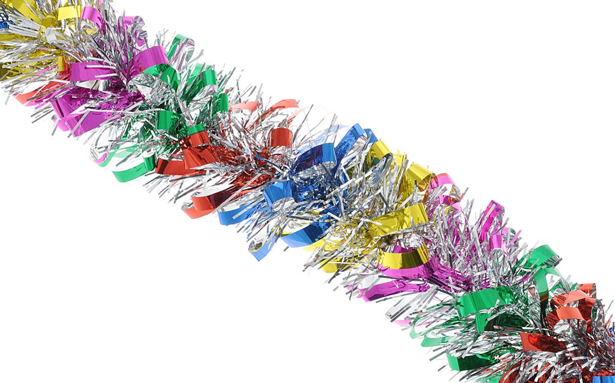 Мишура новогодняя Феникс-презент Magic Time, цвет: красный, синий, диаметр 9 см, длина 200 см. 3817938179Мишура новогодняя Феникс-презент Magic Time, выполненная из ПЭТ (полиэтилентерефталата), поможет вам украсить свой дом к предстоящим праздникам. Мишура армирована, то есть имеет проволоку внутри и способна сохранять приданную ей форму. Новогодняя елка с таким украшением станет еще наряднее. Новогодней мишурой можно украсить все, что угодно - елку, квартиру, дачу, офис - как внутри, так и снаружи. Можно сложить новогодние поздравления, буквы и цифры, мишурой можно украсить и дополнить гирлянды, можно выделить дверные колонны, оплести дверные проемы.