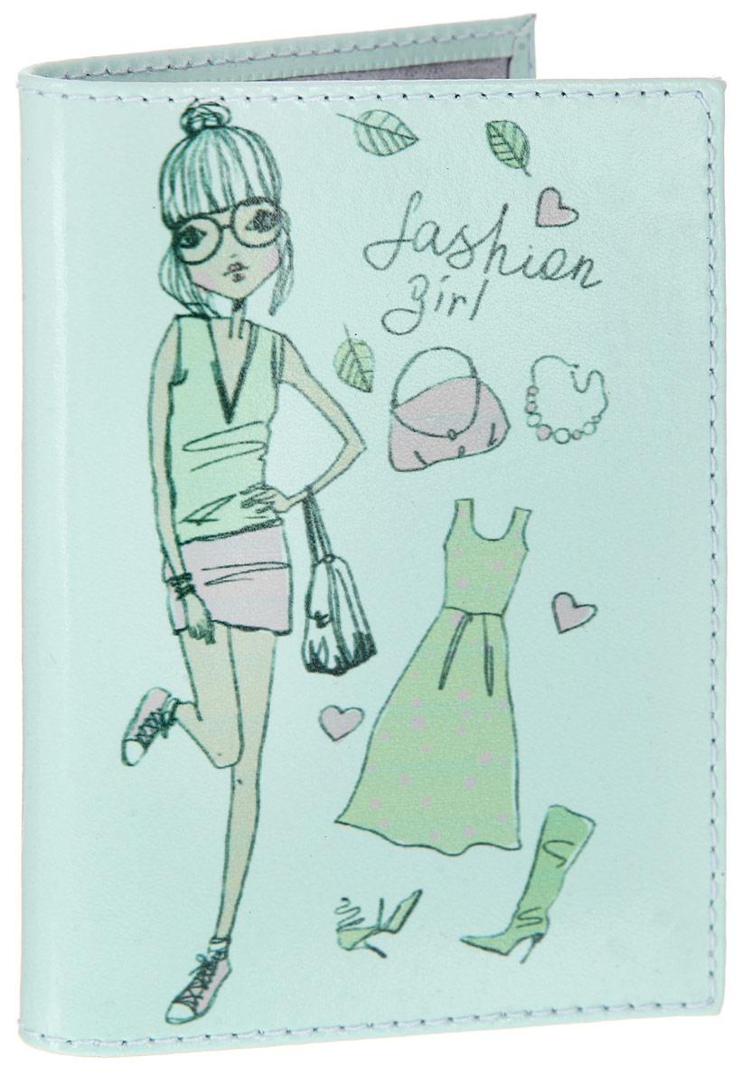 Визитница женская Befler Fashion Girl, цвет: ментоловый. V.32.-1.FG2V.32.-1.FG2 ментолВертикальная женская визитница Befler Fashion Girl изготовлена из гладкой натуральной кожи и оформлена изображением девушки с аксессуарами. На внутреннем развороте два кармана и блок из двадцати отделений для визиток из прозрачного пластика. Изделие упаковано в фирменную коробку. Такая визитница станет отличным подарком для человека, ценящего качественные и практичные вещи.