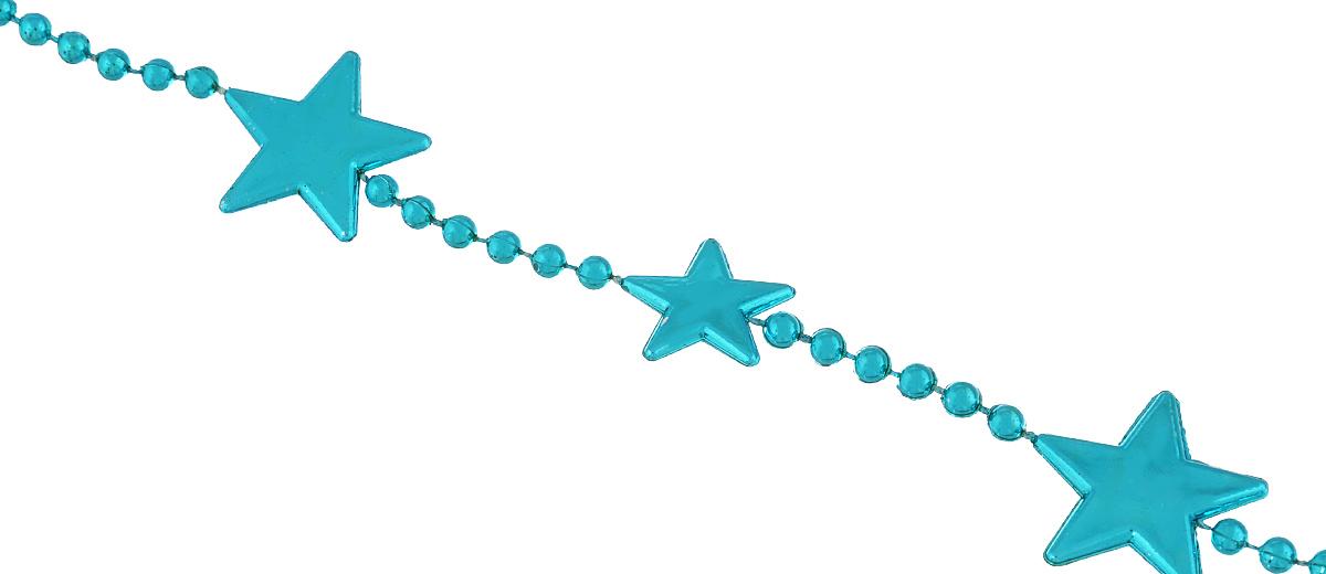 Новогоднее украшение Lunten Ranta Бусы. Цепочка из звезд, цвет: бирюзовый, длина 2 м65613Новогоднее украшение Lunten Ranta Бусы. Цепочка из звезд, изготовленные из высококачественного пластика, прекрасно подойдут для декора дома или новогодней ели. Новогодние бусы создают сказочную атмосферу и дарят ощущение праздника. Откройте для себя удивительный мир сказок. Почувствуйте волшебные минуты ожидания праздника, создайте новогоднее настроение вашим дорогим и близким.