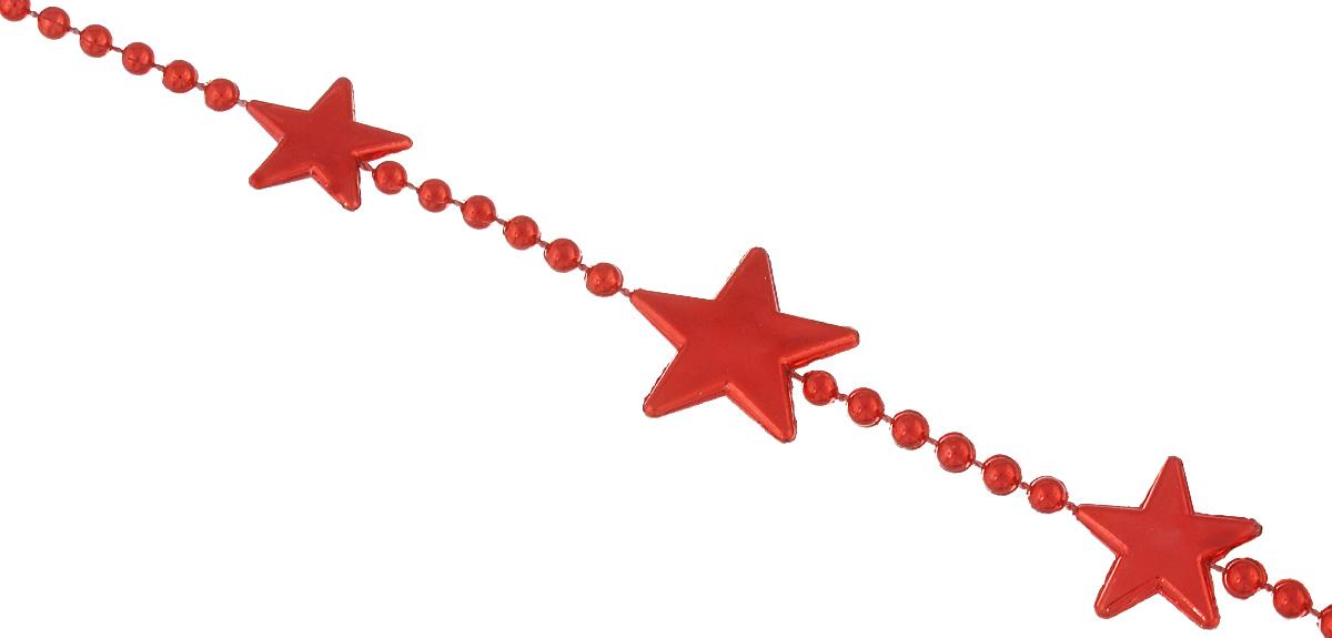 Новогоднее украшение Lunten Ranta Бусы. Цепочка из звезд, цвет: красный, длина 2 м65611Новогоднее украшение Lunten Ranta Бусы. Цепочка из звезд, изготовленные из высококачественного пластика, прекрасно подойдут для декора дома или новогодней ели. Новогодние бусы создают сказочную атмосферу и дарят ощущение праздника. Откройте для себя удивительный мир сказок. Почувствуйте волшебные минуты ожидания праздника, создайте новогоднее настроение вашим дорогим и близким.