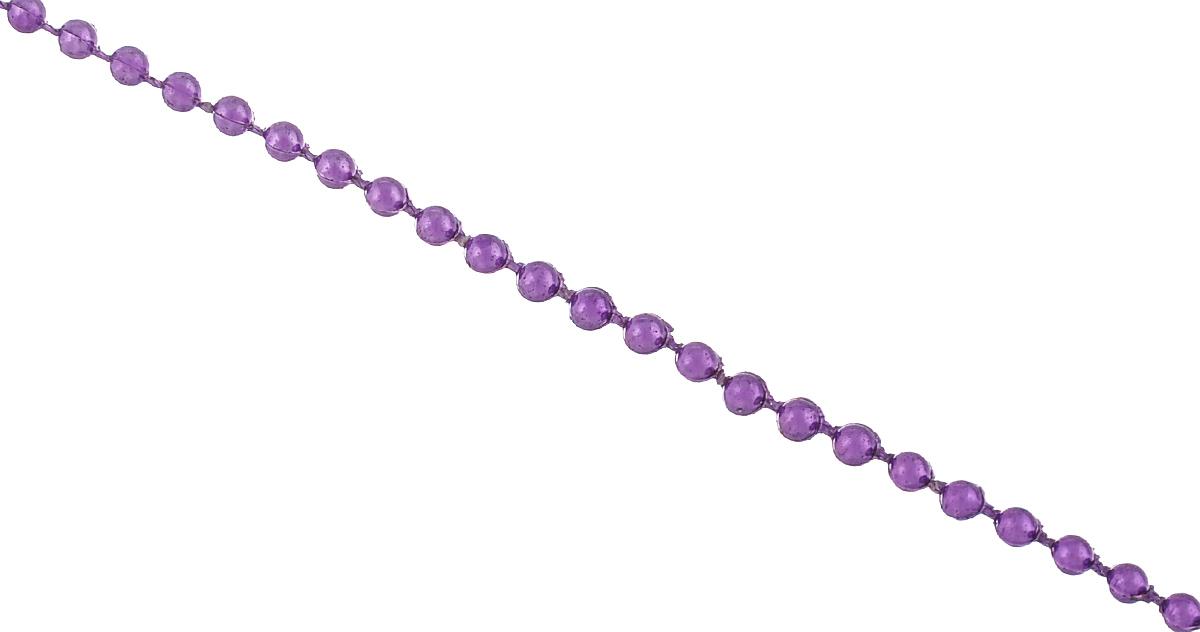 Новогоднее украшение Lunten Ranta Бусы. Мелкие, цвет: фиолетовый, длина 2 м65687Новогоднее украшение Lunten Ranta Бусы. Мелкие, изготовленные из высококачественного пластика, прекрасно подойдут для декора дома или новогодней ели. Новогодние бусы создают сказочную атмосферу и дарят ощущение праздника. Откройте для себя удивительный мир сказок. Почувствуйте волшебные минуты ожидания праздника, создайте новогоднее настроение вашим дорогим и близким.