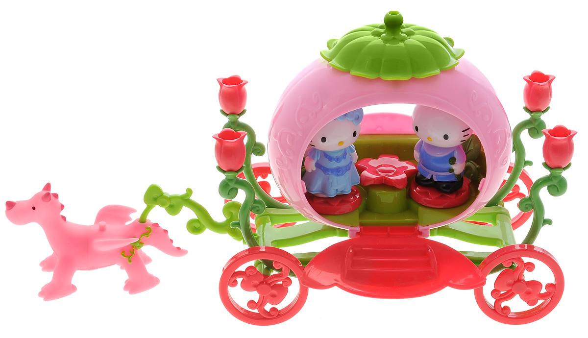 """Hello Kitty Игровой набор """"Карета с драконом"""" 65030"""
