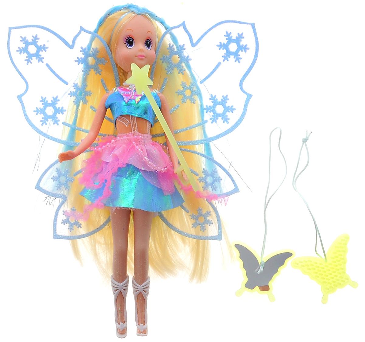 Simba Кукла Зимняя фея цвет платья бирюзовый5519054Зимняя фея с аксессуарами.