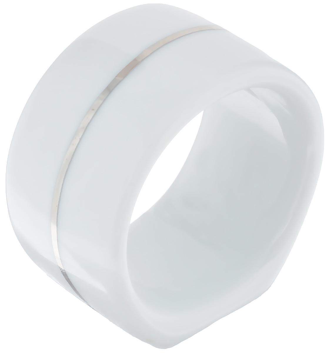 Кольцо для салфеток La Rose Des Sables Vendanges, цвет: белый, серебристый, диаметр 4 см482 350 019Кольцо для салфеток La Rose Des Sables Vendanges выполнено из высококачественного фарфора с простотой и изяществом. Такое кольцо станет замечательной деталью сервировки и великолепным украшением праздничного стола. Внешний диаметр кольца: 4 см. Внутренний диаметр кольца: 3,5 см. Ширина кольца: 2,5 см.