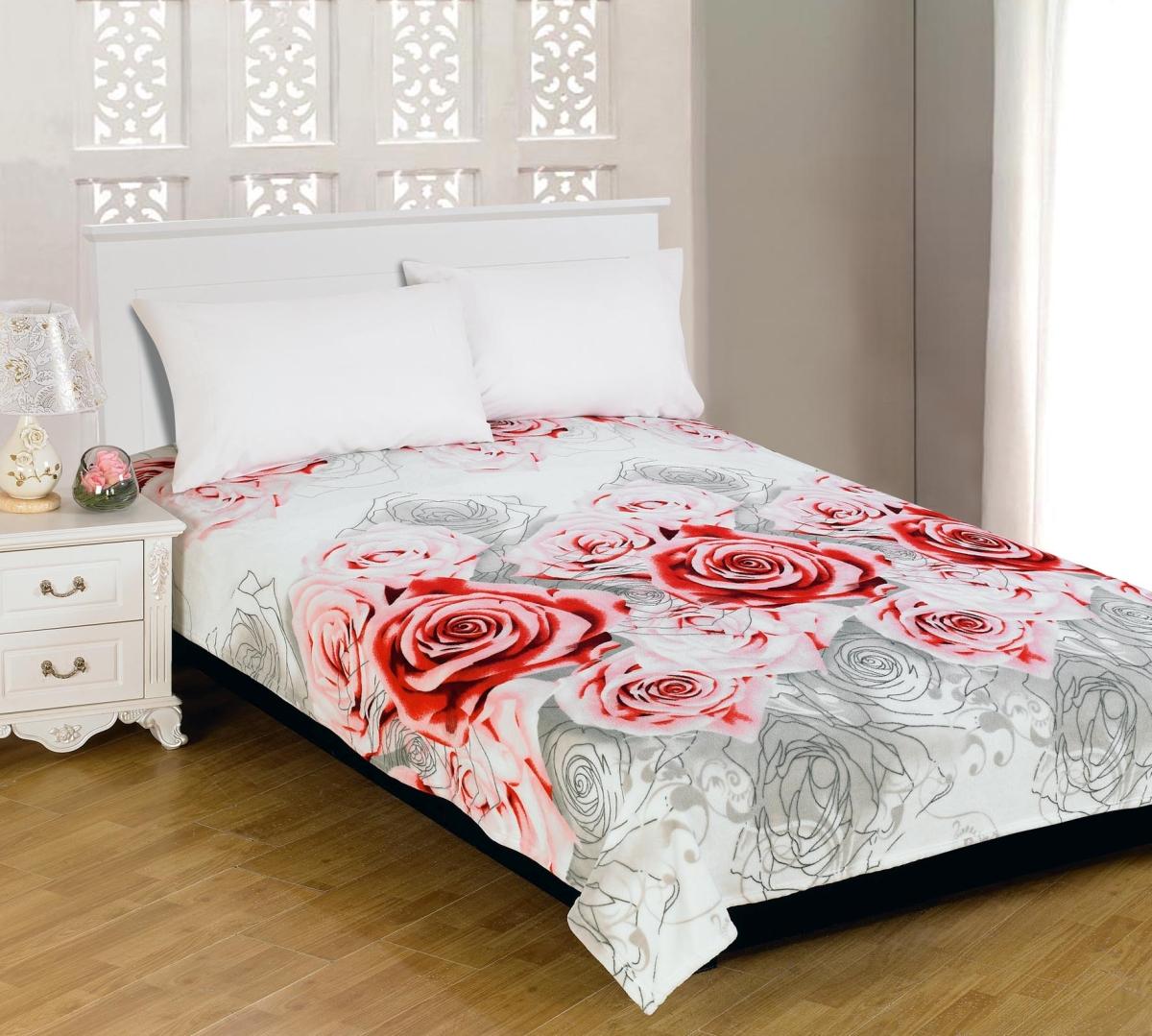 Плед Amore Mio Roses Chic, цвет: белый, розовый, серый, 150 см х 200 см63212Мягкий, теплый и уютный плед Amore Mio Roses Chic изготовлен из фланели (100% полиэстер). Благодаря своей структуре плед отлично удерживает тепло, не накапливает статическое электричество. Фланель - мягкий материал, гипоаллергенен и экологичен. Благодаря уникальной технологии окрашивания, плед прекрасно отстирывается, не линяет и не скатывается. Изделие легко стирается, быстро сохнет и практически не мнется.