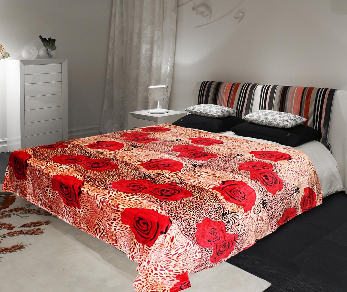 Плед Buenas Noches Фланель. Mirabella, цвет: красный, розовый, 160 х 220 см65780Плед Buenas Noches Фланель. Mirabella - это идеальное решение для вашего интерьера! Он порадует вас легкостью, нежностью и оригинальным дизайном! Плед выполнен из 100% полиэстера и оформлен изображением цветов. Полиэстер считается одной из самых популярных тканей. Это материал синтетического происхождения из полиэфирных волокон. Изделия из полиэстера не мнутся и легко стираются. После стирки очень быстро высыхают. Плед - это такой подарок, который будет всегда актуален, особенно для ваших родных и близких, ведь вы дарите им частичку своего тепла! Продукция торговой марки Buenas Noches сделана с особой заботой, специально для вас и уюта в вашем доме!