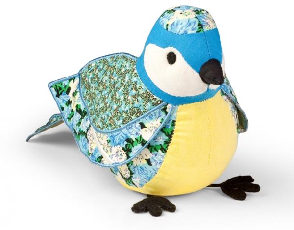 Пресс-папье: птица Blaumeise /Синяя синица/, высота 14см, вес 0,2кг (100% хлопок, наполнитель песок, ароматизатор Лаванда), 1шт в подарочной упаковке - Andrews409023Пресс-папье: птица Blaumeise /Синяя синица/, высота 14см, вес 0,2кг (100% хлопок, наполнитель песок, ароматизатор Лаванда), 1шт в подарочной упаковке