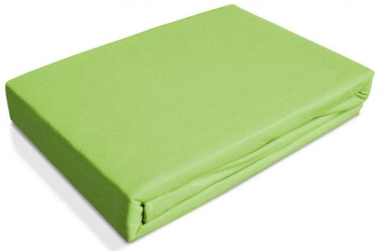 Простыня OL-Tex Джерси, на резинке, цвет: салатовый, 160 х 200 х 20 смПТР-160Простыня OL-Tex Джерси изготовлена из гладкокрашеного трикотажного полотна (100% хлопок), не имеет швов. По всему периметру простыня снабжена резинкой. Изделие легко надевается на матрасы высотой до 20 см. Идеально подходит в качестве наматрасника. Рекомендации по уходу: - Ручная и машинная стирка при температуре 30°С. - Гладить при средней температуре до 150°С. - Не отбеливать. - Можно сушить и отжимать в стиральной машине. - Химчистка запрещена.