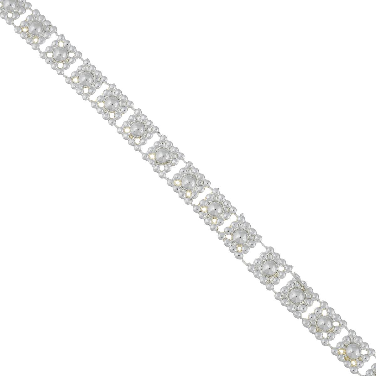 Новогодняя гирлянда Феникс-презент Квадратики, цвет: серебристый, длина 2,7 м38687Новогодняя гирлянда Феникс-презент Квадратики, выполненная из высококачественного полистирола, прекрасно подойдет для декорации новогодней ели. Она подарит сказочную атмосферу и ощущение праздника. Откройте для себя удивительный мир сказок. Почувствуйте волшебные минуты ожидания торжества и новогоднего настроения. Ширина гирлянды: 0,9 см.