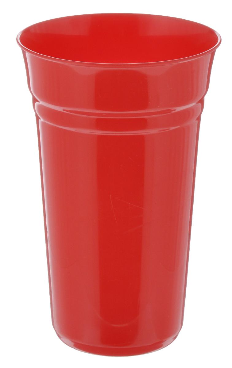 Стакан Berossi Patio, цвет: красный, 800 млИК09146000Стакан Berossi Patio изготовлен из прочного высококачественного пластика. Изделие предназначено для воды, сока и других напитков. Стакан сочетает в себе яркий дизайн и функциональность. Благодаря такому стакану пить напитки будет еще вкуснее. Стакан Berossi Patio можно использовать дома, на даче или на пикнике. Диаметр стакана по верхнему краю: 10 см. Высота стакана: 15,5 см. Диаметр основания: 6,5 см.