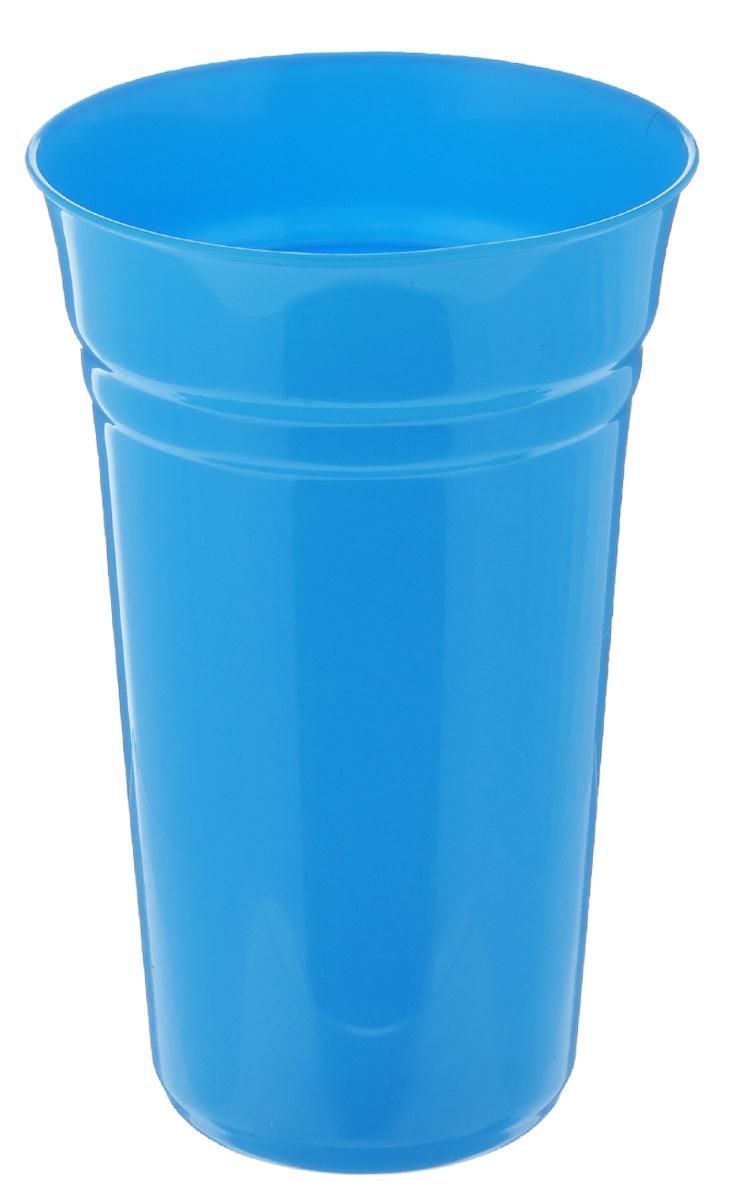 Стакан Berossi Patio, цвет: голубой, 800 млИК09147000Стакан Berossi Patio изготовлен из прочного высококачественного пластика. Изделие предназначено для воды, сока и других напитков. Стакан сочетает в себе яркий дизайн и функциональность. Благодаря такому стакану пить напитки будет еще вкуснее. Стакан Berossi Patio можно использовать дома, на даче или на пикнике. Диаметр стакана по верхнему краю: 10 см. Высота стакана: 15,5 см. Диаметр основания: 6,5 см.