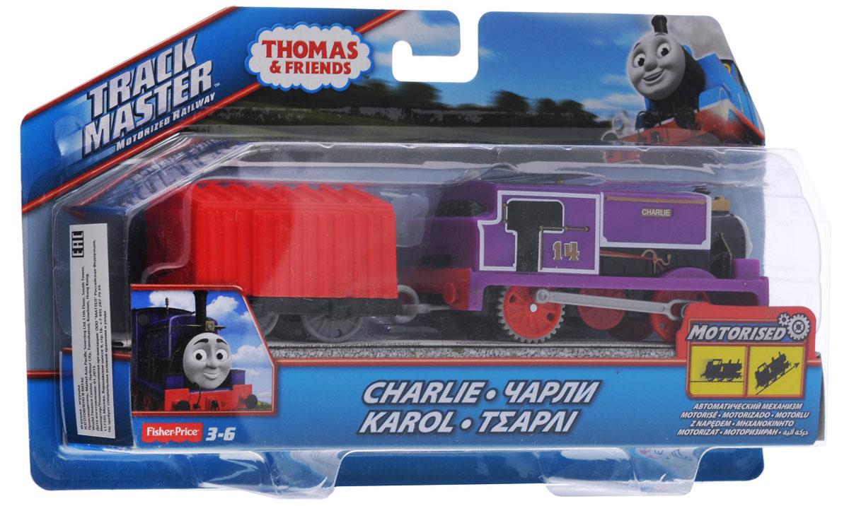 Thomas & Friends Паровозик Чарли с вагончиком