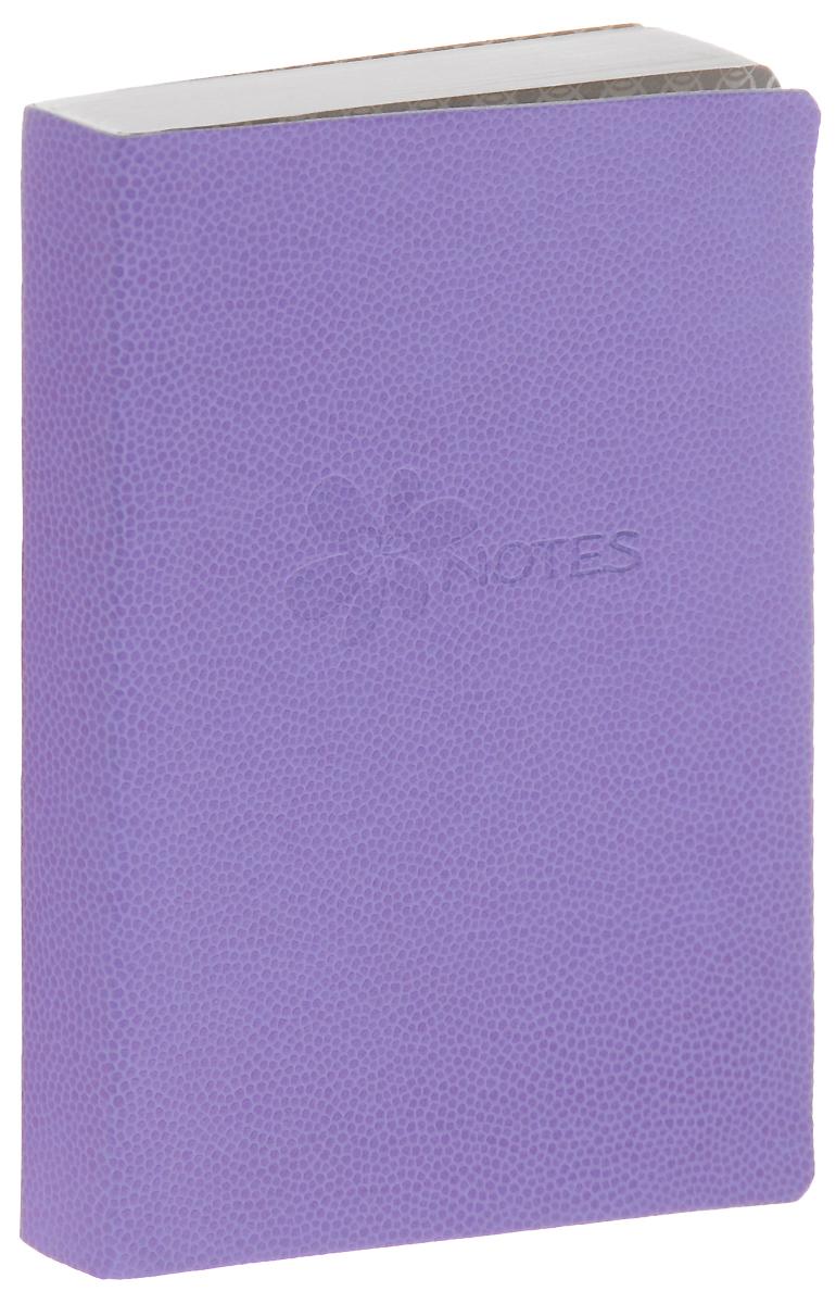 Erich Krause Книга для записей Flower 128 листов цвет фиолетовый29815Записная книжка в линейку с облегченной гибкой обложкой с закругленными углами.