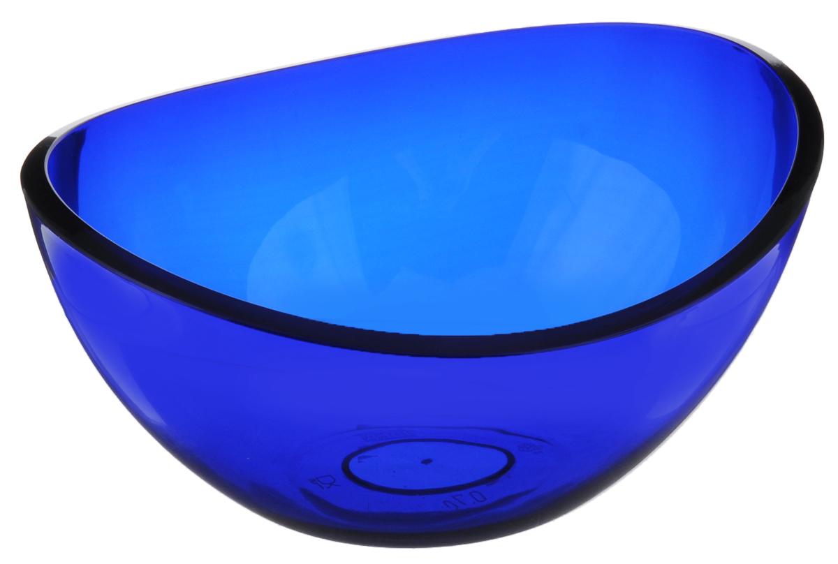 Салатник Idea Кристалл, цвет: синий, 700 млМ 1350Салатник Idea Кристалл изготовлен из высококачественного пищевого полистирола. Такой салатник прекрасно подойдет для сервировки салатов, фруктов, ягод. Прекрасный вариант для дачи и отдыха на природе. Объем: 700 мл. Размер (по верхнему краю): 16,5 см х 14 см. Высота стенки: 7,6 см.