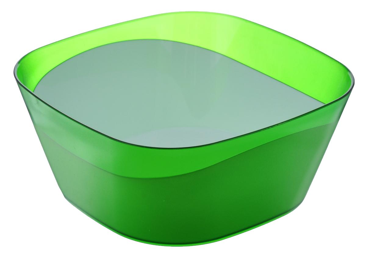 Салатник Berossi Valeryl, цвет: салатовый, белый, 1 лИК14651000Салатник Berossi Valeryl изготовлен из высококачественного пищевого пластика. Такой салатник прекрасно подойдет для сервировки салатов, фруктов, ягод. Прекрасный вариант для дачи и отдыха на природе. Объем: 1 л. Размер (по верхнему краю): 15,7 см х 15,7 см. Высота стенки: 6,7 см.