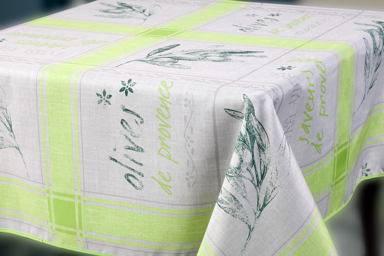 Скатерть Прованс, прямоугольная, цвет: светло-зеленый, 150 x 220 см6191522-23prВеликолепная прямоугольная скатерть, выполненная из полиэстера, органично впишется в интерьер любого помещения, а оригинальный дизайн удовлетворит даже самый изысканный вкус. Скатерть Прованс с водоотталкивающей пропиткой создаст праздничное настроение и станет прекрасным дополнением интерьера гостиной, кухни или столовой. Машинная стирка при 30 градусах.