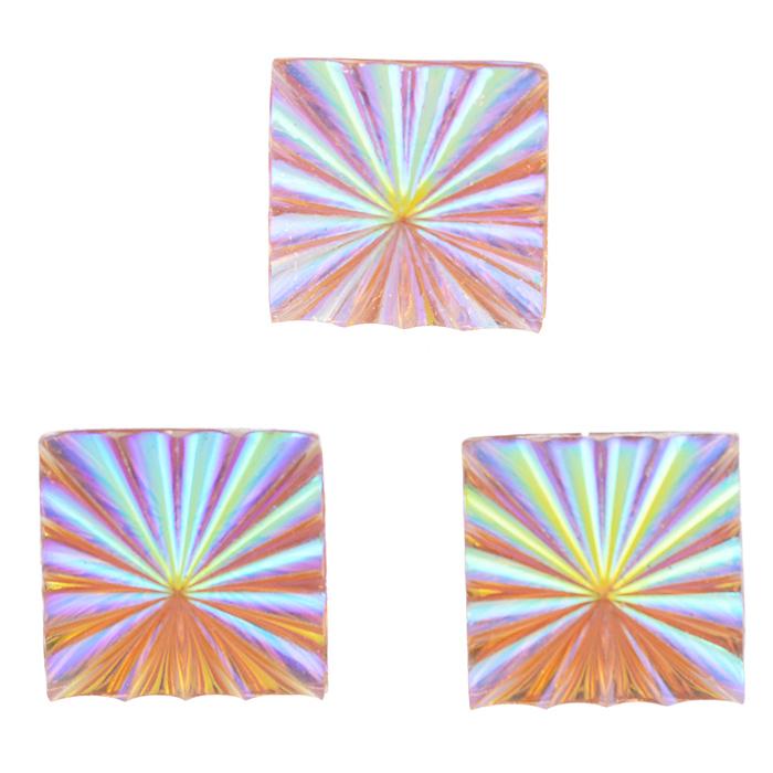 Пуговицы декоративные Астра Кристалл, цвет: оранжевый, 24 мм х 24 мм, 3 шт7708646Набор Астра Кристалл, изготовленный из пластика, состоит из 3 квадратных декоративных пуговиц с рельефной перламутровой поверхностью. С помощью них вы сможете украсить одежду, подарок, открытку, фотографию, альбом и другие предметы ручной работы. Такие пуговицы станут незаменимым элементом в создании рукотворного шедевра. Размер пуговицы: 24 мм х 24 мм.
