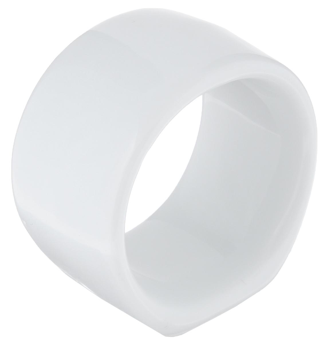 Кольцо для салфеток La Rose Des Sables Vendanges, цвет: белый, диаметр 4 см48235Кольцо для салфеток La Rose Des Sables Vendanges выполнено из высококачественного фарфора с простотой и изяществом. Такое кольцо станет замечательной деталью сервировки и великолепным украшением праздничного стола. Внешний диаметр кольца: 4 см. Внутренний диаметр кольца: 3,5 см. Ширина кольца: 2,5 см.