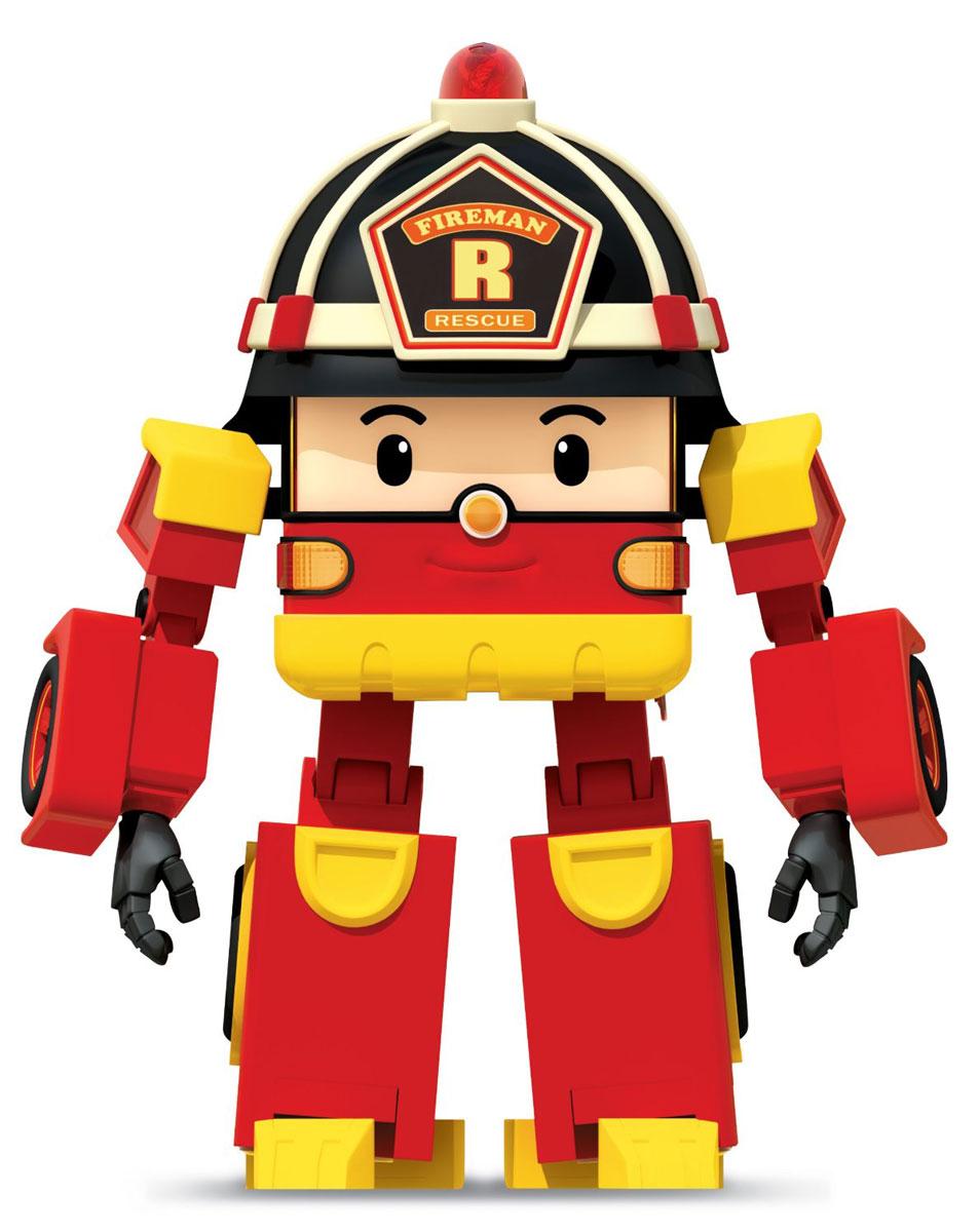 Robocar Poli Игрушка-трансформер Рой 10 см83170Оригинальная игрушка-трансформер Рой надолго займет внимание вашего ребенка. Игрушка выполнена из безопасного пластика красного и желтого цветов в виде Роя. Игрушка имеет две вариации: первая - мальчик-робот, вторая - пожарная машина. Эта игрушка непременно понравится вашему малышу. Порадуйте ребенка таким замечательным подарком! Характеристики: Высота робота: 10 см. Размер упаковки: 12,5 см x 12,5 см x 17 см. Изготовитель: Китай.