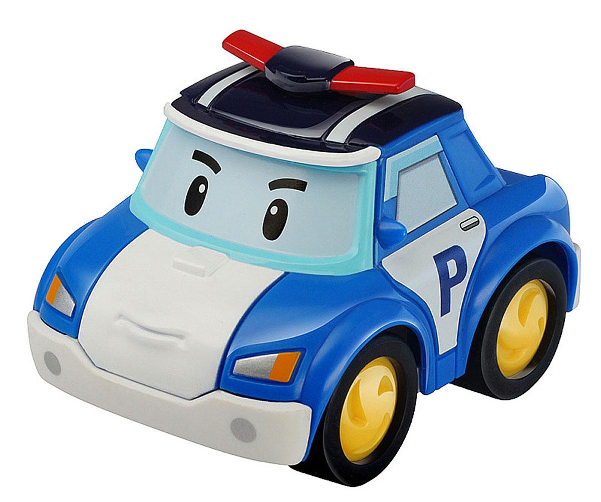 Robocar Poli Машинка инерционная Поли83181Яркая машинка Poli Поли непременно понравится вашему малышу. Она выполнена из прочного материала в виде полицейской машинки Поли - главного героя популярного мультсериала Robocar Poli. Машинка оснащена инерционным механизмом. Стоит откатить игрушку назад, слегка надавив на крышу, затем отпустить - и Поли быстро поедет вперед. Благодаря небольшому размеру ребенок сможет машинку с собой на прогулку, в поездку или в гости. Порадуйте своего малыша таким замечательным подарком!