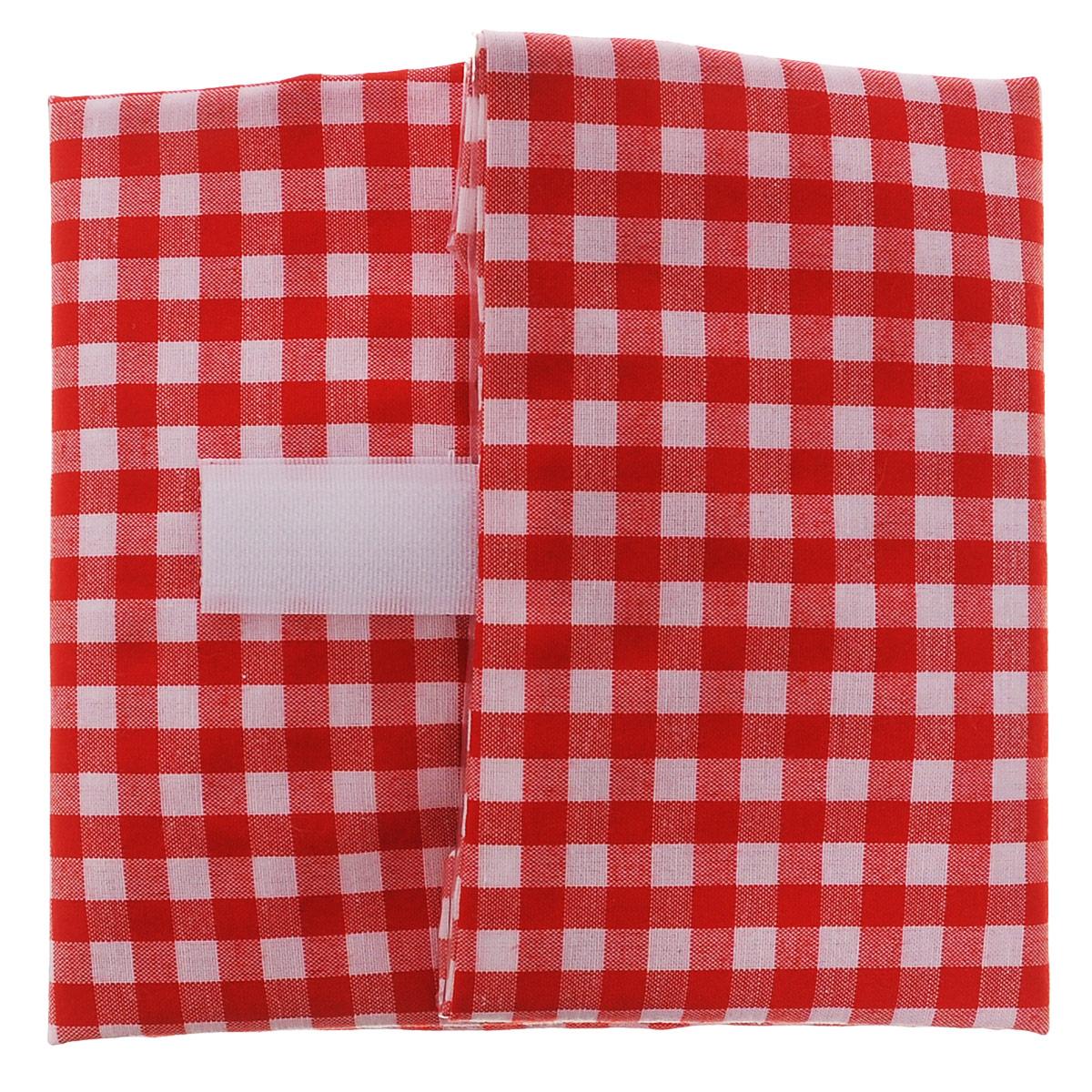 Упаковка для бутербродов Lurch, цвет: красный, белый, 17 х 15 х 1,2 см220900Многоразовая упаковка Lurch - это стильная и удобная упаковка для бутербродов. Изделие оснащено липучкой для полного обертывания продукта. Подлинное немецкое качество и яркий дизайн, порадует вас, своей функциональностью. Материал: 65% полиэстер; 35% хлопок; полиэтилен.