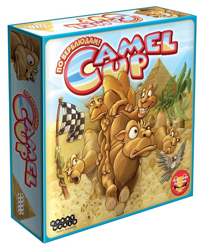 Hobby World Настольная игра Camel Up ( 1426 )